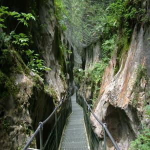 Les Gorges de la Fou massif du Canigó (Canigou)